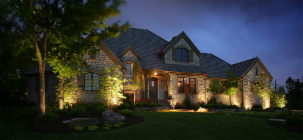 Landscape Lighting Benefits for Milton Property Owners